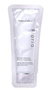 TONYMOLY: Floria Flower Energy Foam Cleanser