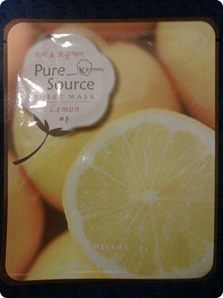 Missha-pure-source-sheet-mask-lemon