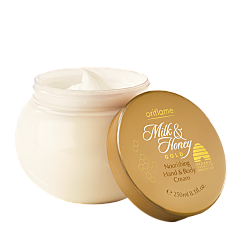 oriflame-crema-nutritiva-manos-cuerpo-milk-and-honey-gold