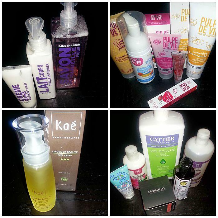 Ultimas compritas de cosmetica natural