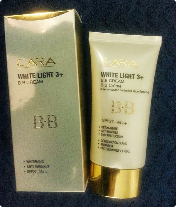 Cara: White Light 3+ BB Cream