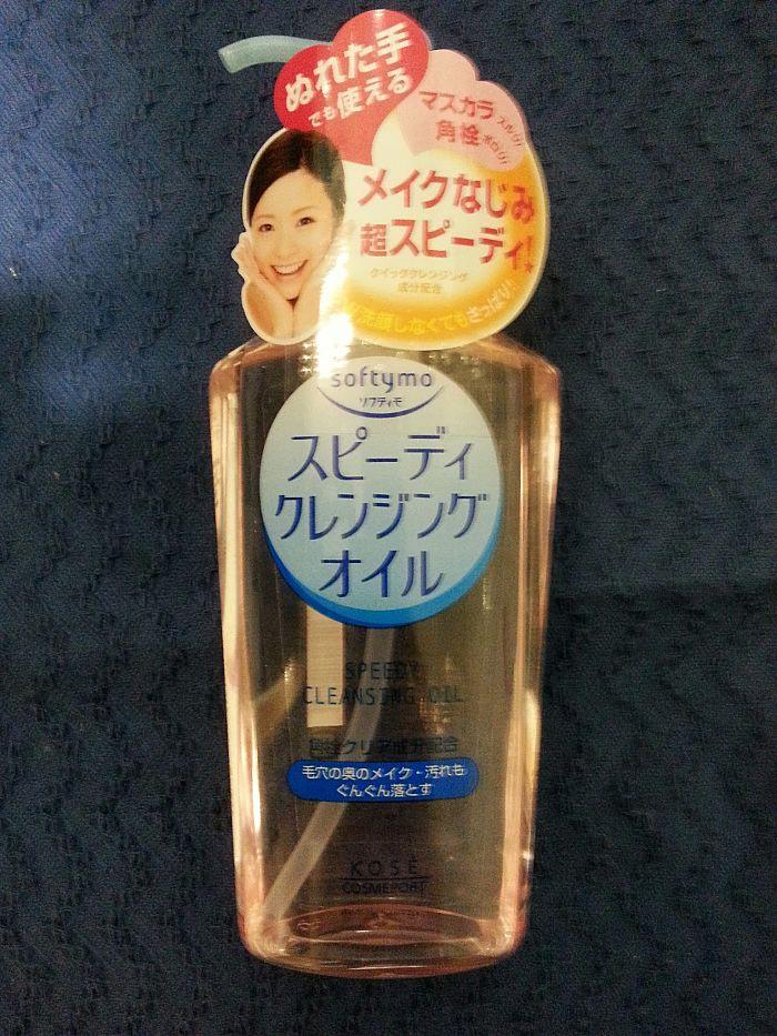 kose-softymo-speedy-cleansing-oil