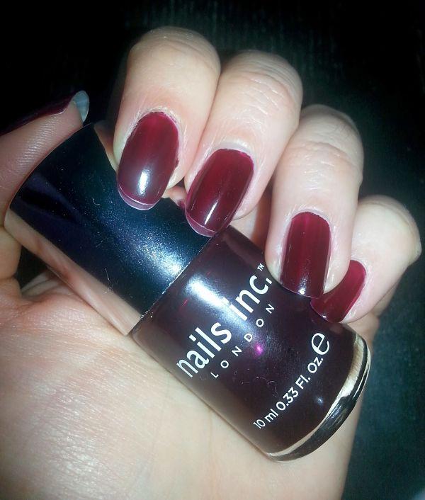 Nails INC: Esmalte de uñas tono Victoria