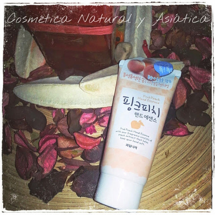 Gwalinara (Welcos): Pink Peach Hand Essence