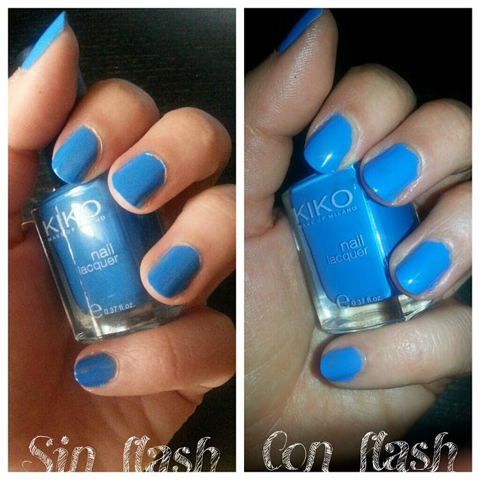 Kiko Make Up: Esmalte de Uñas Light Pastel Blue