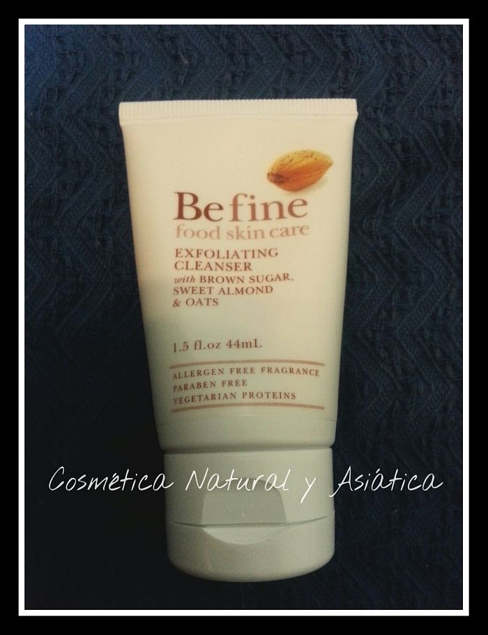Befine: Exfolianting Cleanser with Brown Sugar, Sweet Almond and Oats