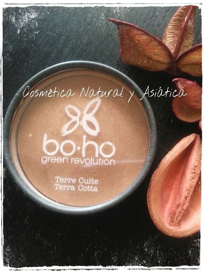 Boho Cosmetics: Polvos Terracota