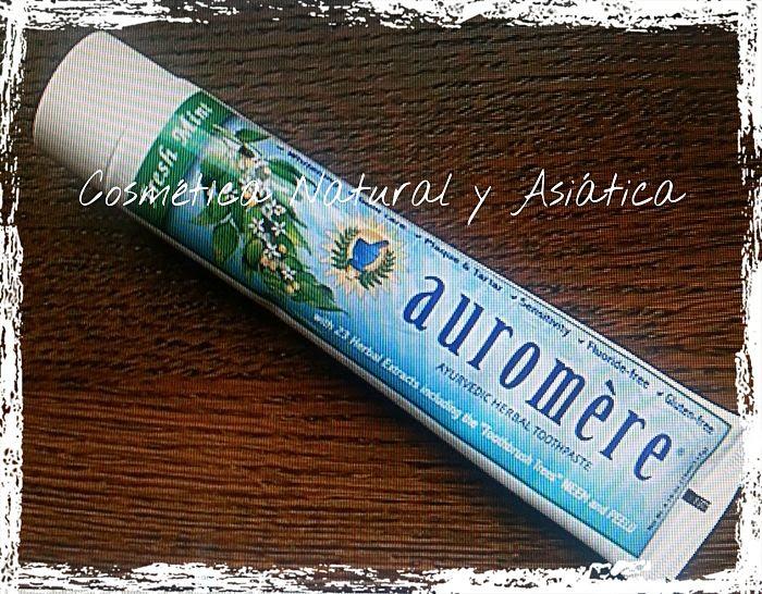 Auromere: Pasta de dientes Fresh Mint