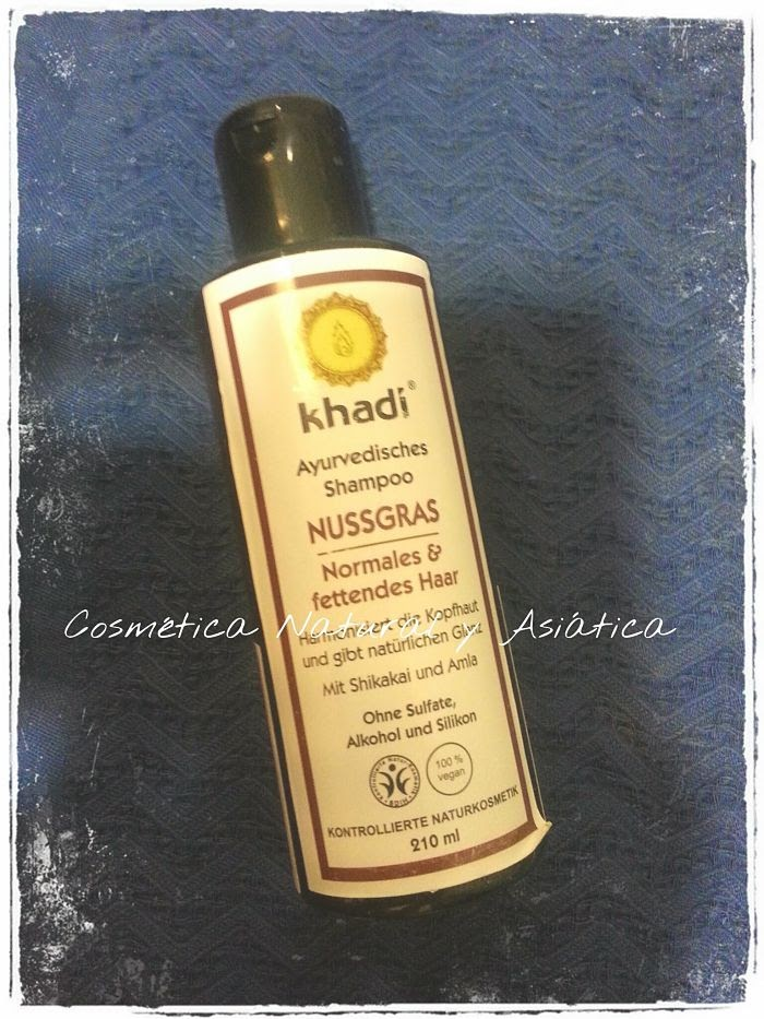 Khadi: Champú Nussgrass