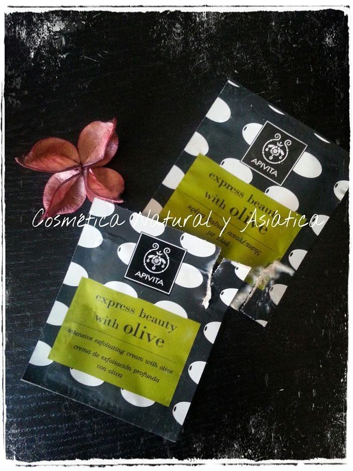 Apivita: Express Beauty Crema Exfoliante Intensiva con Oliva