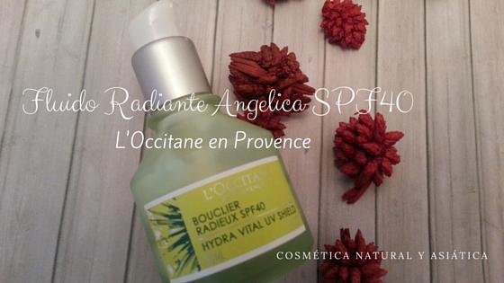 L'Occitane: Fluido Radiante Angélica SPF40