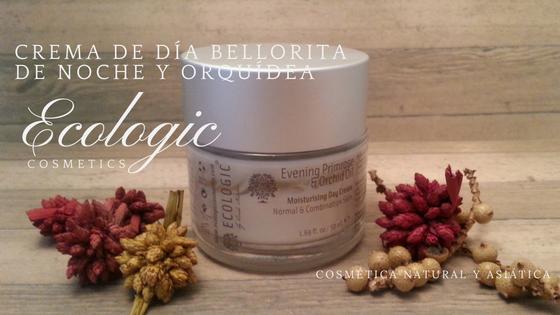 Ecologic: Crema hidratante facial protector de día de Bellorita de Noche & Orquídea