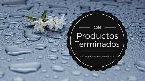 Productos Terminados 2016 III