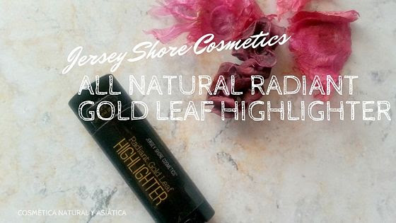 Jersey Shore Cosmetics: All Natural Radiant Gold Leaf Highlighter