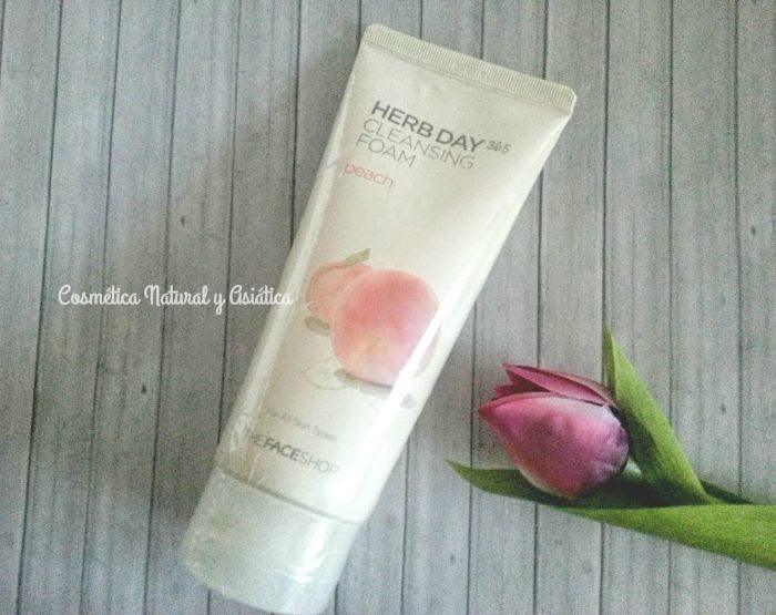 the-face-shop-herb-day-365-cleansing-foam-peach