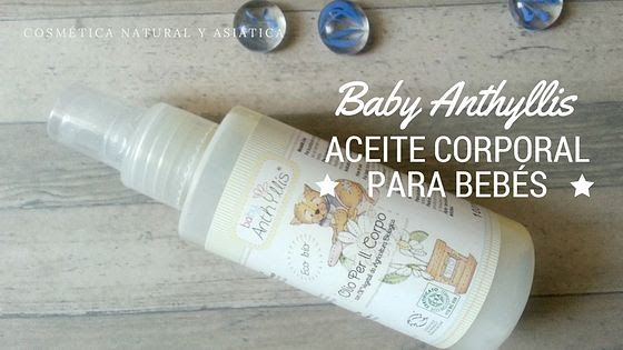Baby Anthyllis: Aceite Corporal