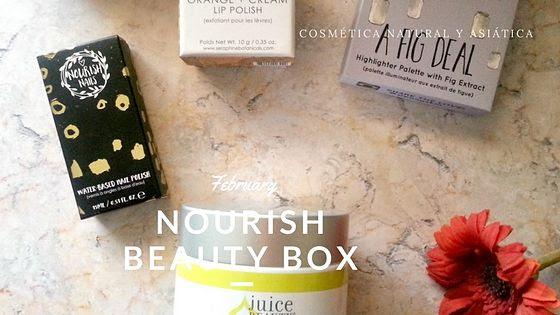 february-nourish-beauty-box-portada