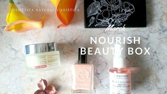 March Nourish Beauty Box