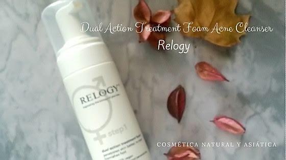 Relogy: Dual Action Treatment Foam Acne Cleanser