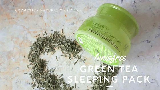 Innisfree: Green Tea Pure Sleeping Pack
