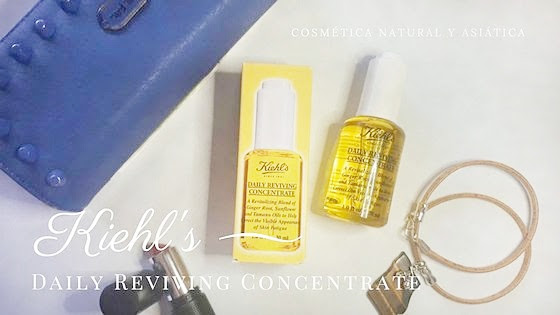 Kiehl's: Daily Reviving Concentrate y ultimo Friends & Family del año