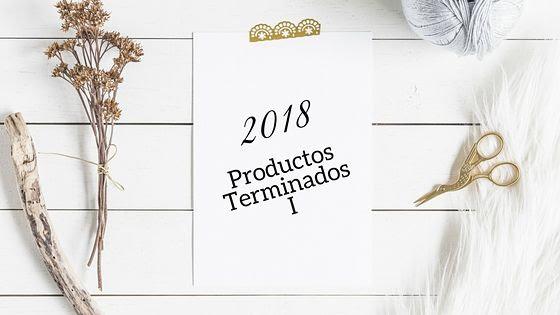 Productos Terminados 2018