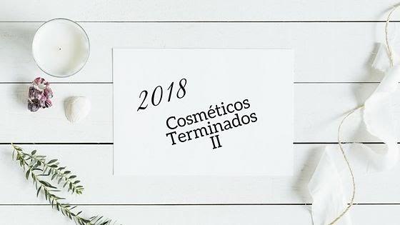Cosméticos Terminados 2018 II