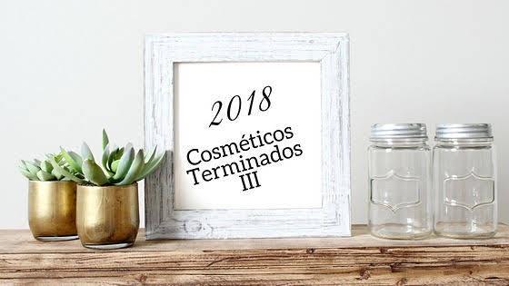 Cosmeticos Terminados 2018 III