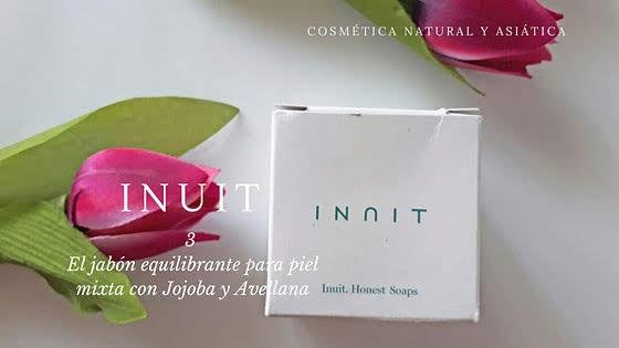 Inuit : 3 el jabón equilibrante para piel mixta con Jojoba y Avellana