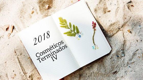 Cosméticos Terminados 2018 IV