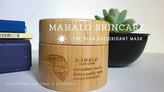Mahalo Skincare: The Bean Antioxidant Mask