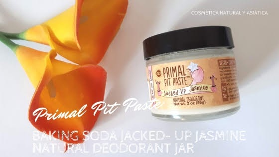 Primal Pit Paste: Baking Soda Jacked- Up Jasmine Natural Deodorant Jar