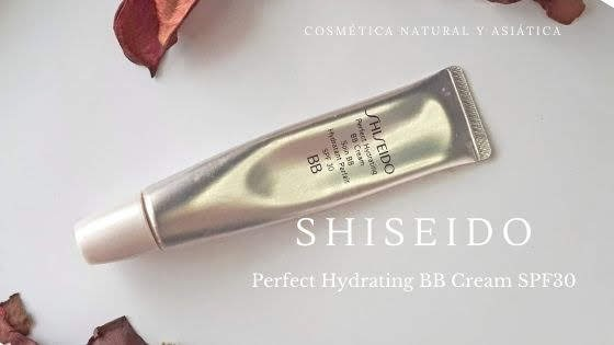 Probando Perfect Hydrating BB Cream SPF30 de  Shiseido